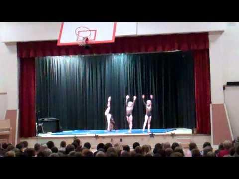 Gymnastics talent show routine