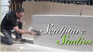 Polystyrene / Styrofoam Pit Walls by Sculpture Studios