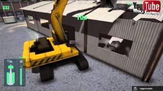 Construction Machines Simulator 2016#5 Betonowanie, kopanie i demolowanie