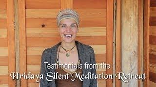 why you should do a hridaya silent meditation retreat