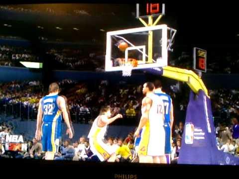 NBA2k11 Lakers vs. Pacers