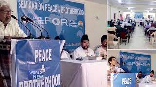 Ahmadiyya Muslim Community India hold peace symposiums