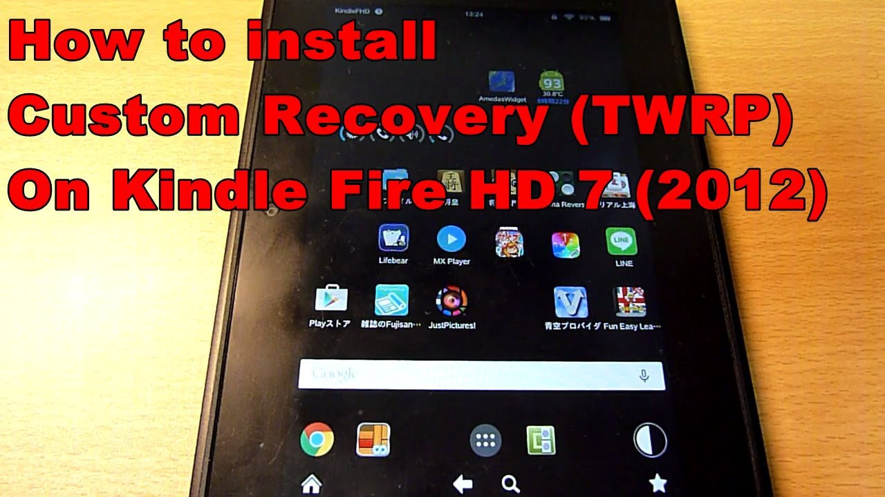Twrp Kindle Fire 1st Gen