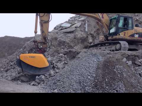 HARTL CRUSHER HBC 950: Concrete Recycling