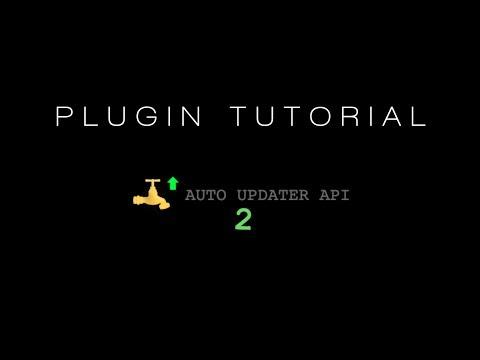 AutoUpdaterAPI | SpigotMC - High Performance Minecraft