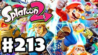 Super Smash Bros Ultimate Splatfest! - Splatoon 2 - Gameplay Walkthrough Part 213 (Nintendo Switch)