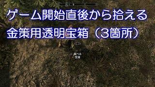 【スカイリムSE】金策用透明宝箱 3箇所(Skyrim Hidden Tresure) thumbnail