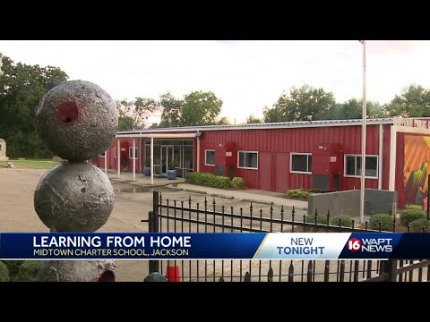 Jackson charter school opens with distance learning