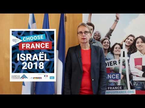 Accueil De Mme Hélène Le Gal, Ambassadrice De France En Israël
