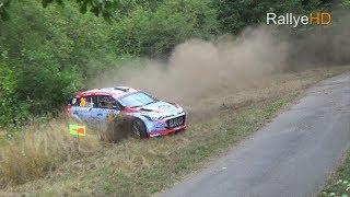 WRC Rallye Deutschland 2018 [HD]   CRASH, MISTAKES, DRIFTS & PURE SOUND