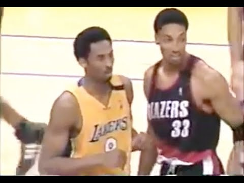 Scottie Pippen Defense on Kobe Bryant - 2000 NBA WCF