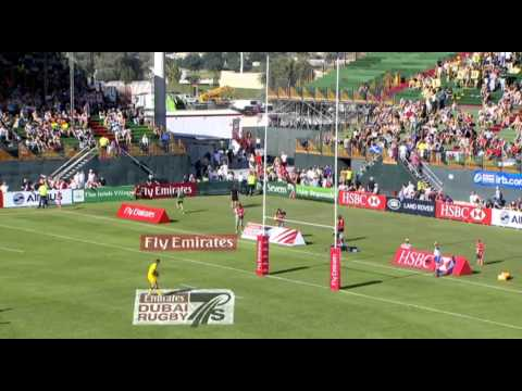 Emirates Airline Dubai Rugby Sevens - Australia vs USA
