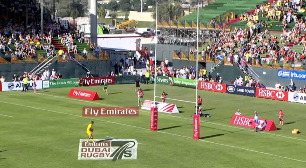 Emirates Airline Dubai Rugby Sevens - Australia vs USA ...