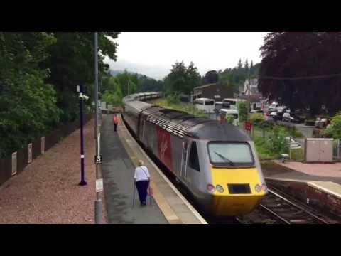 Class 43 HST 125 Power In Scotland