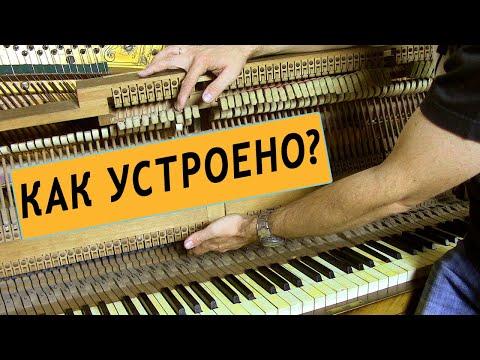 Как устроено пианино