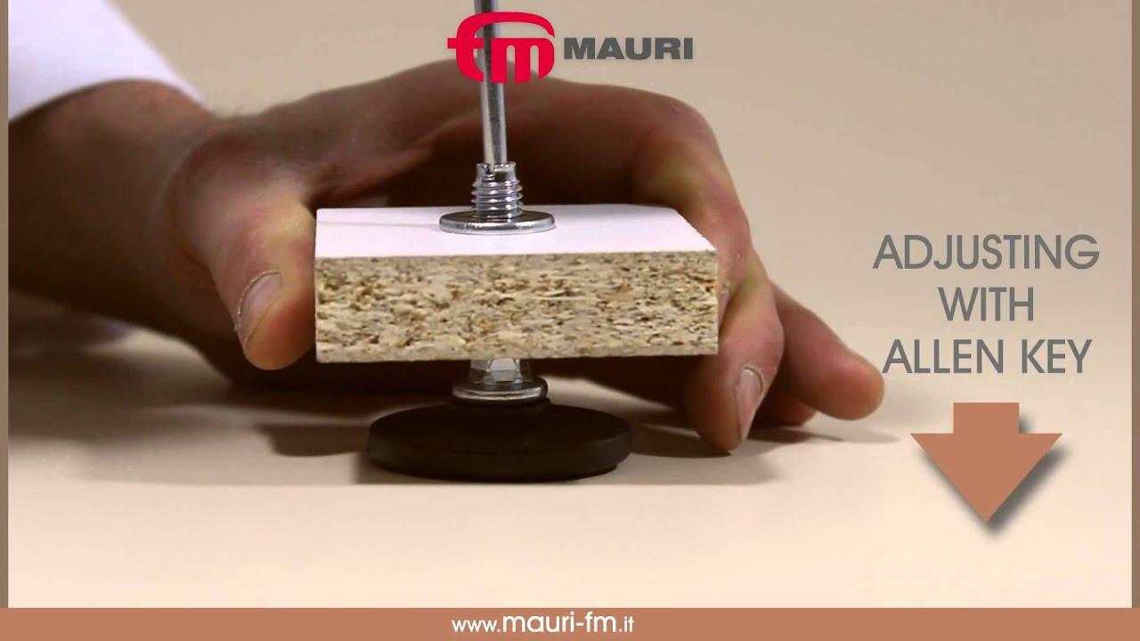 720g0 adjustable feet m10 - youtube