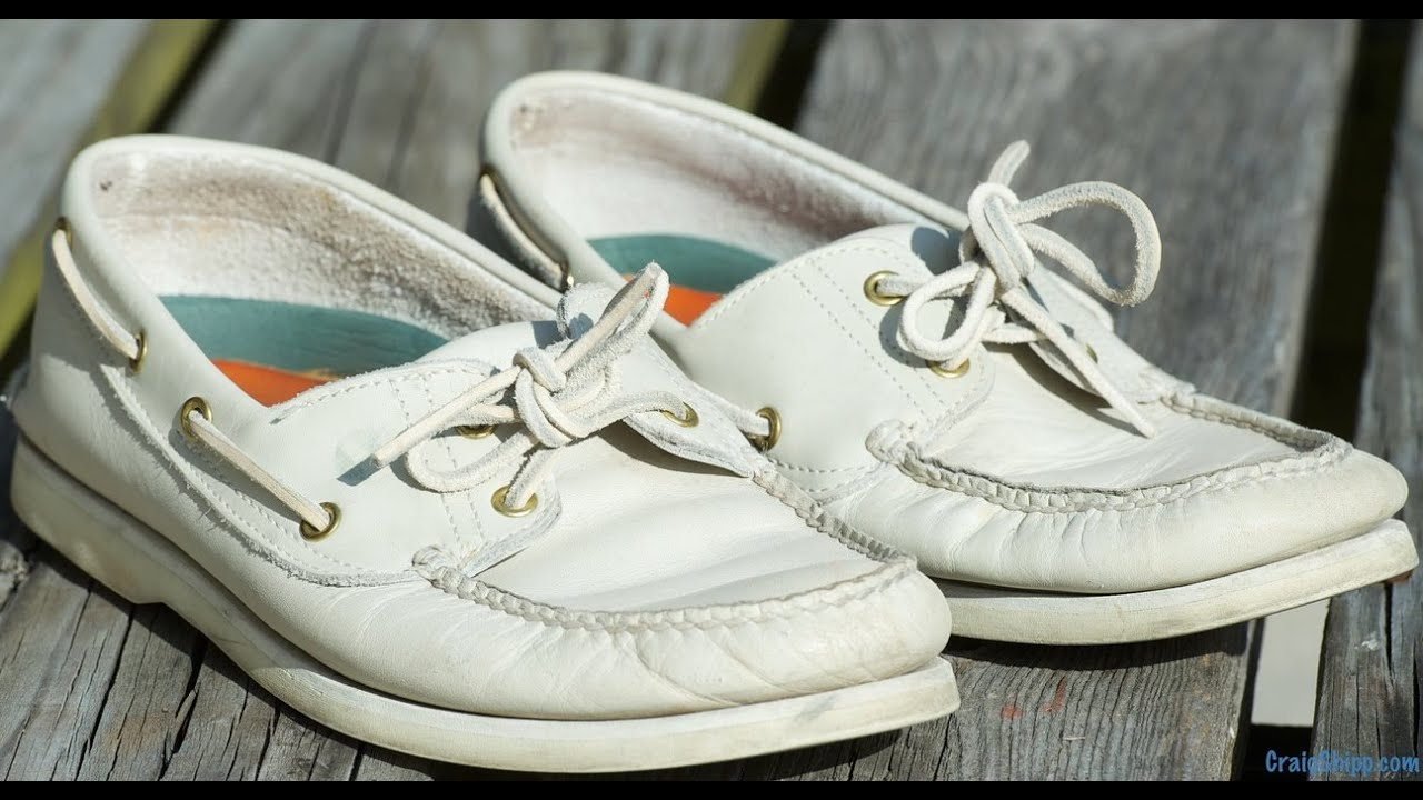 Timberland Boat Shoes Made in USA - YouTube