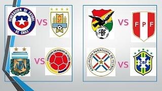 Fefechas y horarios de los partidos de cuartos de final de la Copa América