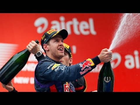 Формула-1: Себастьян Феттель - четырехкратный чемпион мира