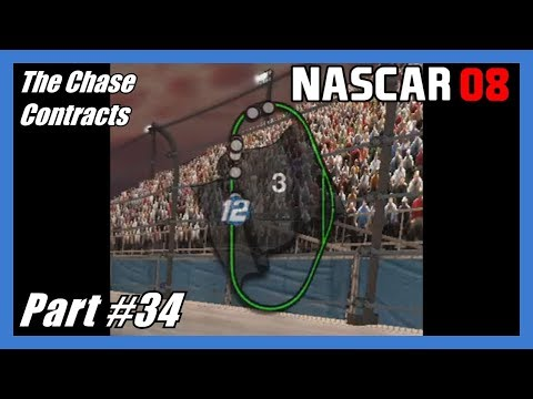 (Black Flagged!) NASCAR 08 The Chase Xbox 360 Part #34