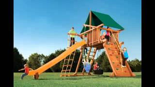 Nashville Wood Swing Set - Call 615-595-5565 - Happy Backyards