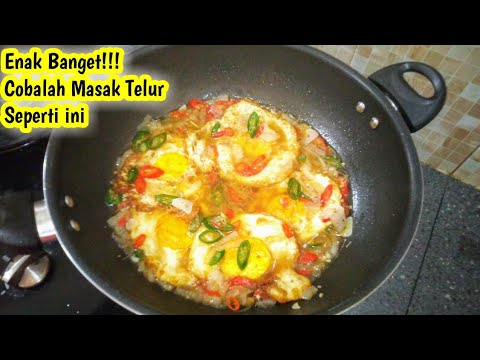 Download ini Enak Banget!!! Masak Telur Ceplok Cara Baru 5 Menit Jadi Wajib Coba