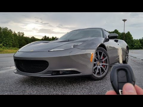 2010 Lotus Evora Start Up Exhaust Test Drive And Review Youtube