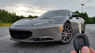 2010 Lotus Evora: Start Up, Exhaust Test Drive and Review