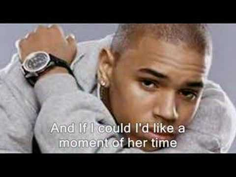 Chris Brown  Excuse Me Mama with lyrics READ DESCRIPTION
