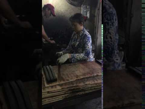 Producing line of Shisha Coconut Charcoal in Vietnam