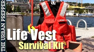 LIFE VEST SURVIVAL KIT for Floods and Tsunamis (PFD)