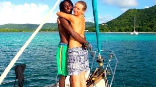 Sail with us from GRENADA to the island of CARRIACOU in the CARIBBEAN!