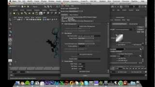 MAYA 3D Animation Tutorial : Batch rendering and converting to a movie file