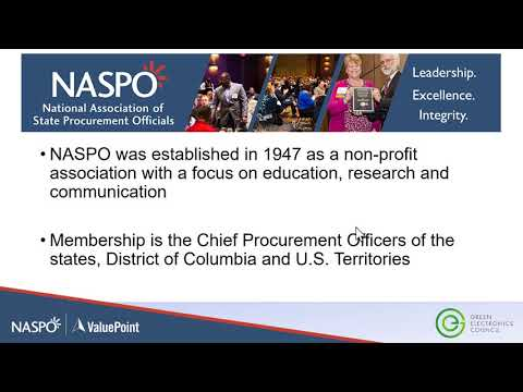 How NASPO Valuepoint Creates Added Value In IT Portfolios Using EPEAT