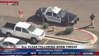 ALL CLEAR: Following bomb threat at Mesa Riverview Walmart (FNN)