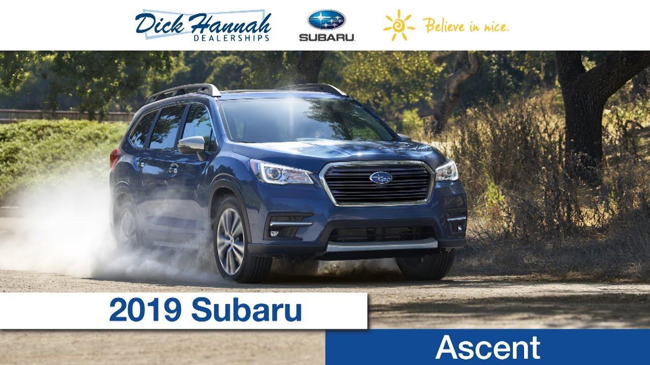 Dick Hannah Subaru >> 2019 Subaru Ascent Review Dick Hannah Subaru