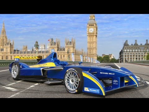 Formula E On The Streets Of London