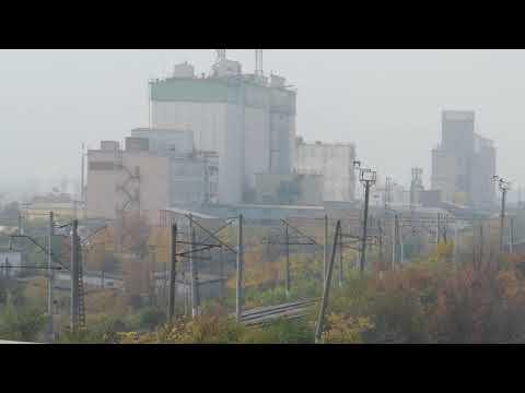 Обстановка в станице Гиагинской Республики Адыгея, рядом с которой горит свалка.