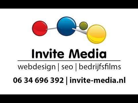 Webdesign voor websites landingspaginas SEO en bedrijfsfilms door Invite Media
