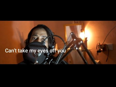 """Can't Take My Eyes Off You   With Lyrics  """"Joseph Vincent""""  Andii Cover"""