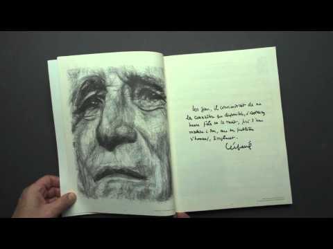Participation à l'illustration d'un recueil musical - Léo Ferré - portraitfacile.com