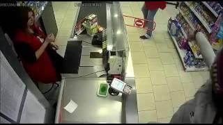 Ограбление магазина пятёрочка 08.04.2017 в Орехово-зуево, улица лопатина