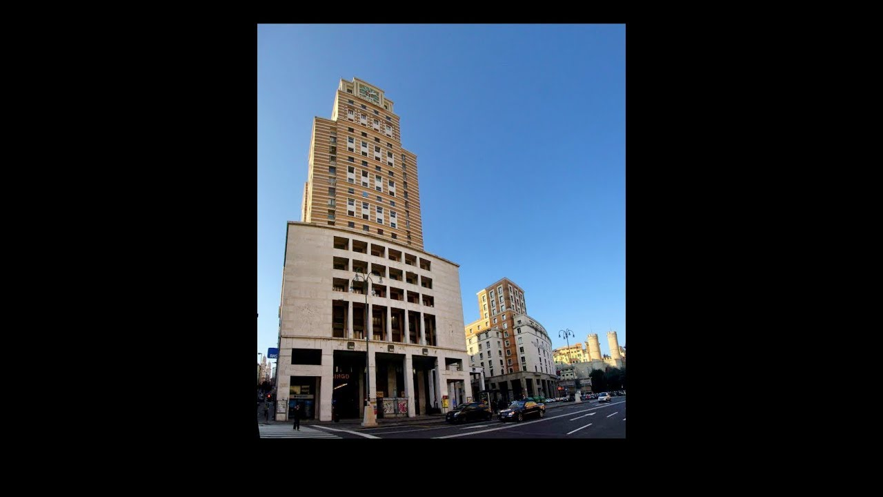 Torre Piacentini 1940 Europe S Tallest Building Until 1952