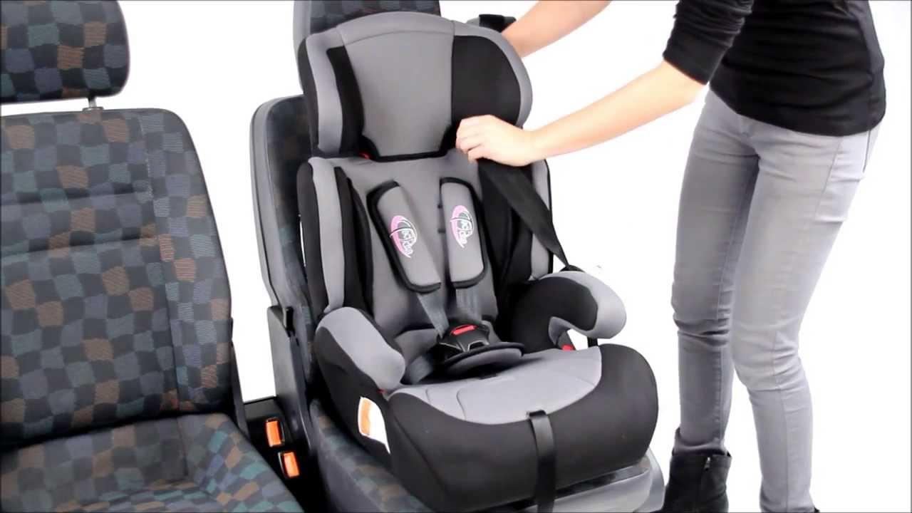 Tectake Kindersitz Baby Child Car Seat Youtube