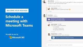 How To Schedule A Meeting With Microsoft Teams