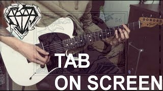 Stick To Your Guns - 56 (Guitar Cover + TAB On Screen)