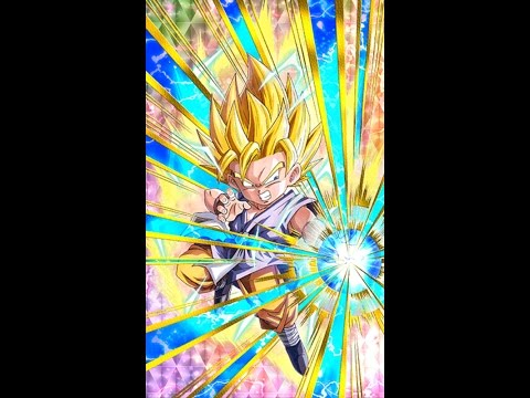 Dokkan Awakening The AGL Super Saiyan Goku (GT) Into A Transcended UR | Dragon Ball Z Dokkan Battle