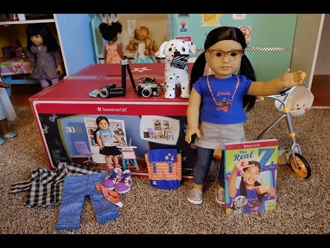 Opening American Girl Doll Z Yang + Collection