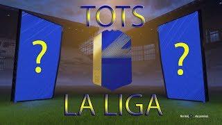 ⚽TOTS LA LIGA 93+ OVERALL SBC!! FIFA 18 PS4