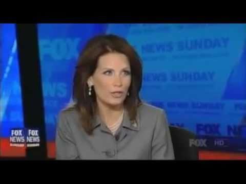 "Chris Wallace  Michele Bachmann Fox News Sunday ""Are You A Flake"""